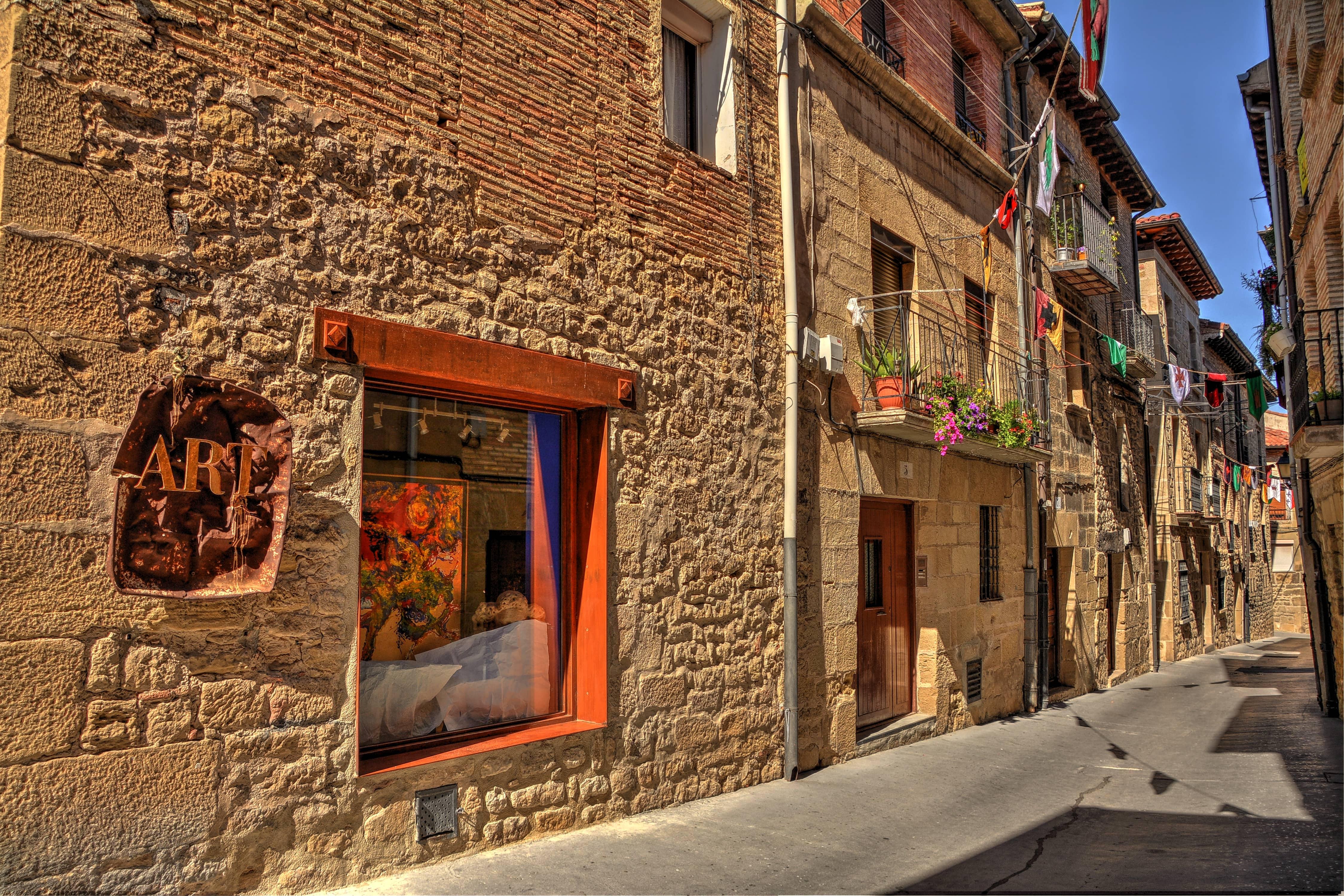 Rioja wine tours from Bilbao, medieval village