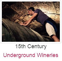 Visit Rioja Wineries, 15th century underground wineries