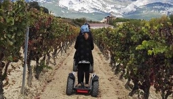 Best Rioja Wine Tours - Riding a Segway, a new way to discover vineyards in La Rioja